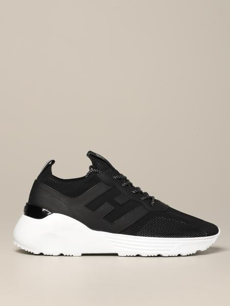 Hogan Active 1 sneakers in leather and mesh