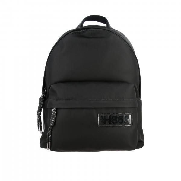 Рюкзак из нейлона с логотипом Мужское Hogan