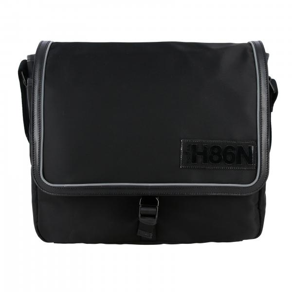 Hogan messenger bag in nylon with logo