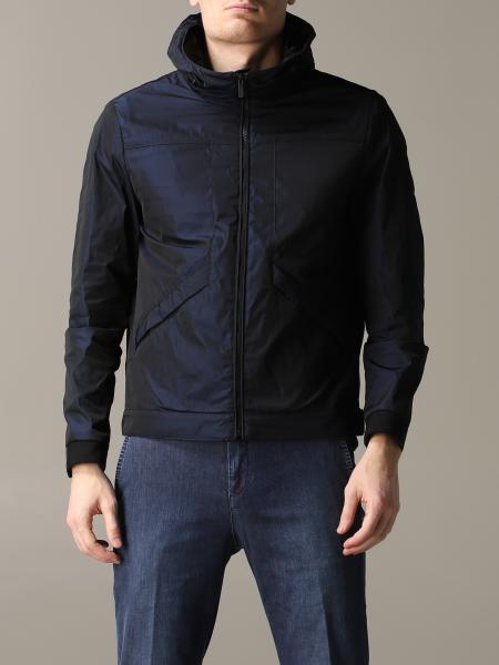 Hogan nylon jacket with hood