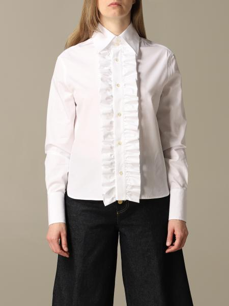 Saint Laurent shirt with ruffles