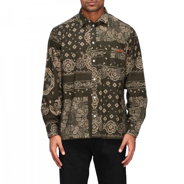 Golden Goose: Golden Goose shirt with bandana print