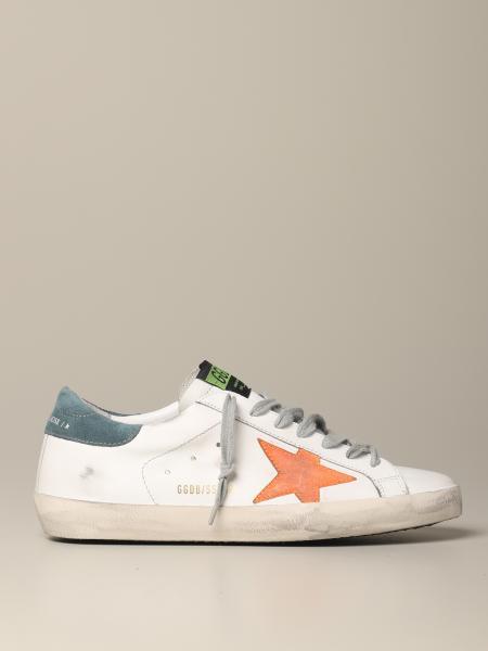 Golden Goose Superstar Leder Sneakers mit Stern