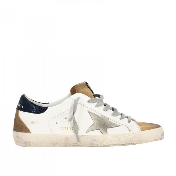 Golden Goose  Superstar sneakers in leather with suede star