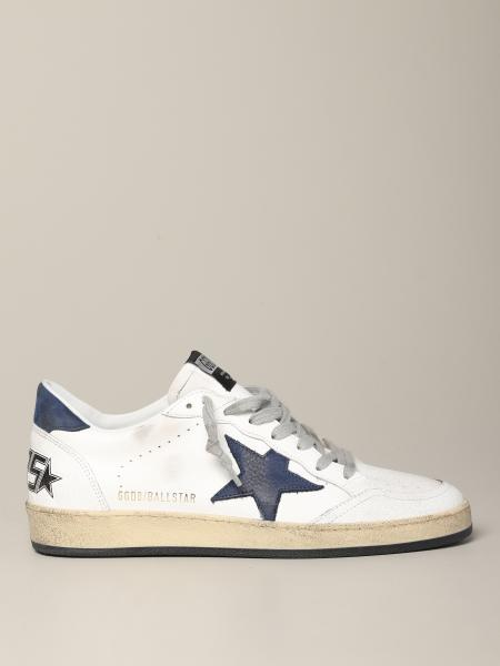 Sneakers Ball star Golden Goose in pelle