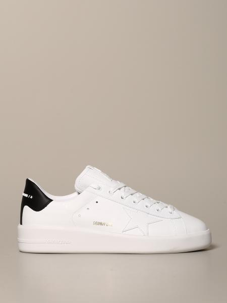 Sneakers Pure Golden Goose in pelle