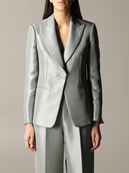 Emporio Armani jacket in lurex gabardine