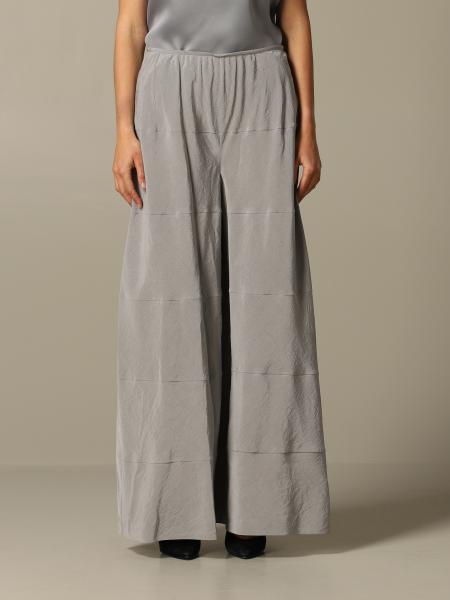 Pantalon large Giorgio Armani en soie lavée