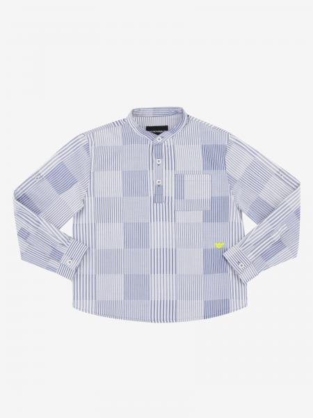 Chemise à motif Emporio Armani
