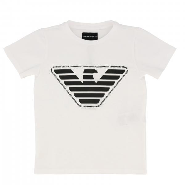 Emporio Armani logo短袖T恤