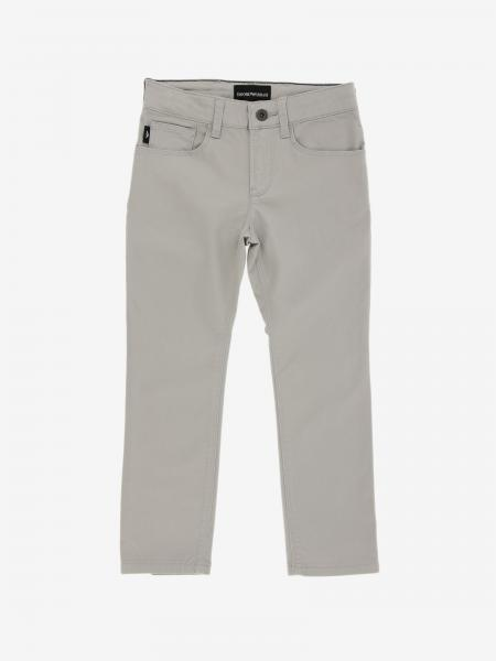 Pantalone Emporio Armani in gabardine stretch