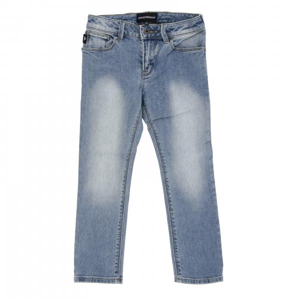 Jeans Emporio Armani en denim usé
