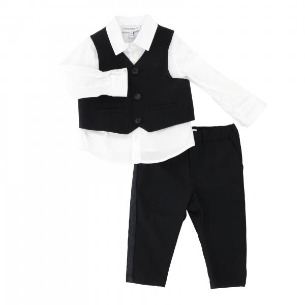 Emporio Armani shirt with vest + pants set