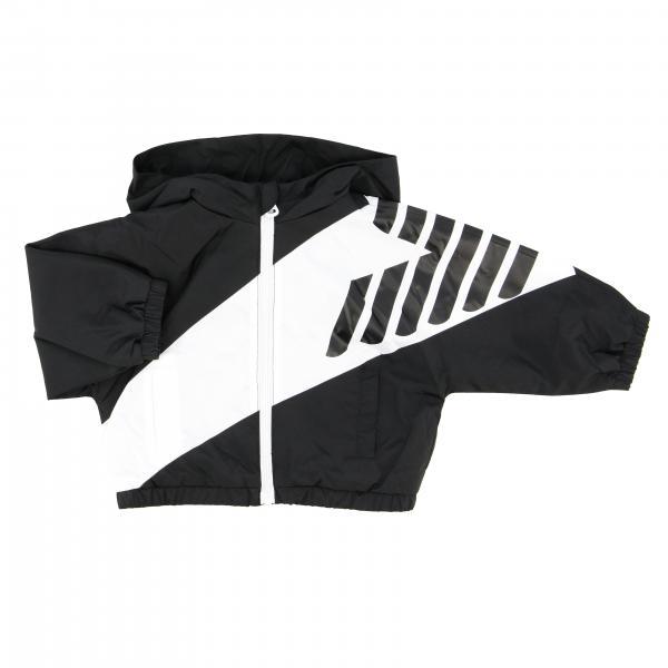 Veste en nylon Emporio Armani avec grand logo
