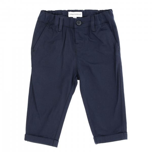 Emporio Armani 弹性华达呢裤子