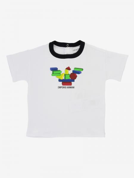 T-shirt Emporio Armani a maniche corte con stampa