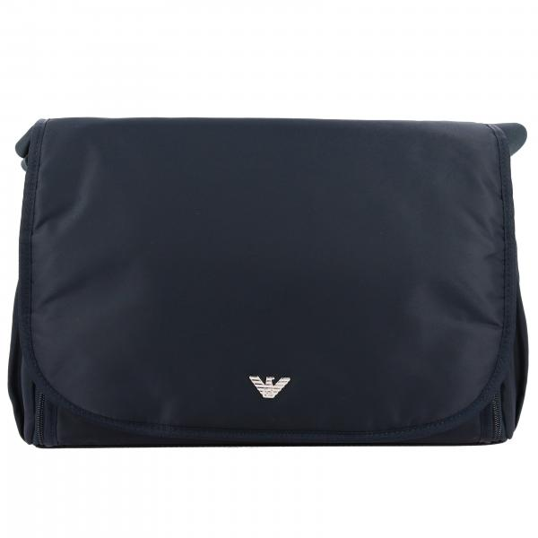 Emporio Armani Mama's bag in nylon with logo