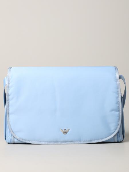 Borsone Mama's bag Emporio Armani in nylon con logo