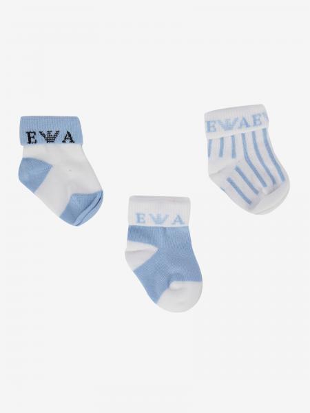 Emporio Armani logo 袜子三件套