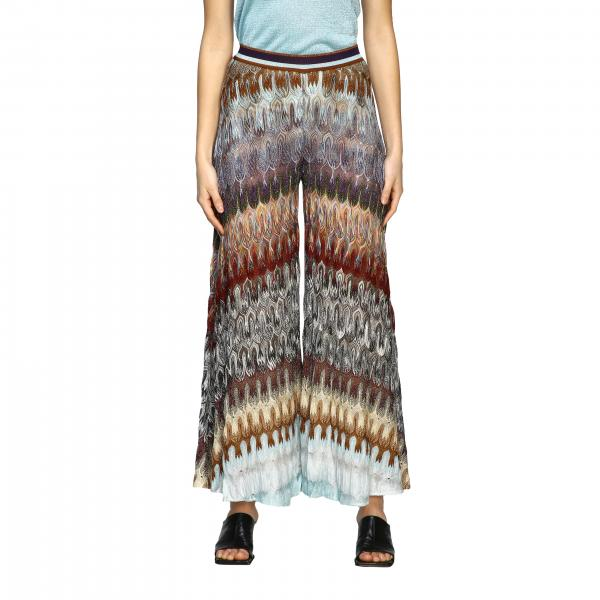 Pantalone Missoni in jacquard lurex