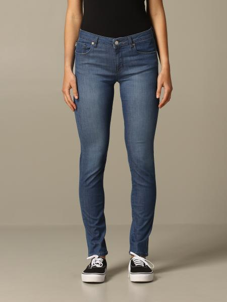 Jeans skinny fit Love Moschino avec broderie coeur