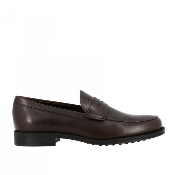 Mocassins Tod's en cuir avec travers