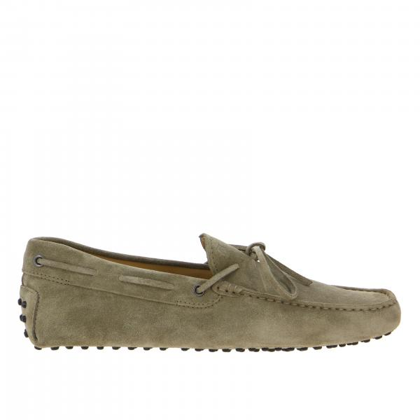 Mocassins New Gommini Tod's en daim avec sangle