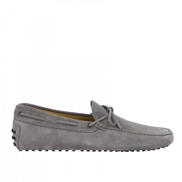 Tod's New Gommini moccasin in suede with strap
