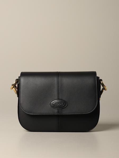 Tod's D bag in leather with logo