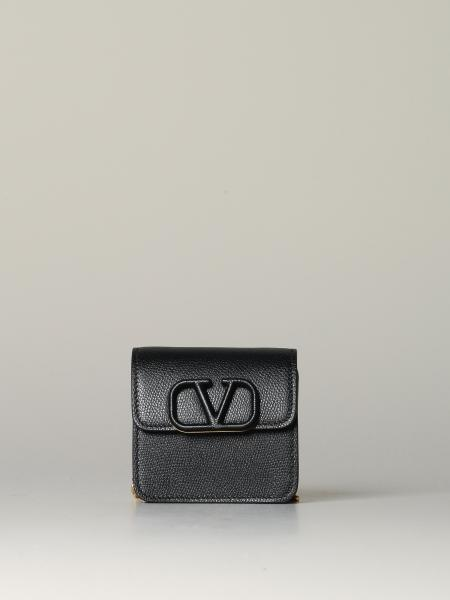 Valentino Garavani mini leather bag with VLogo