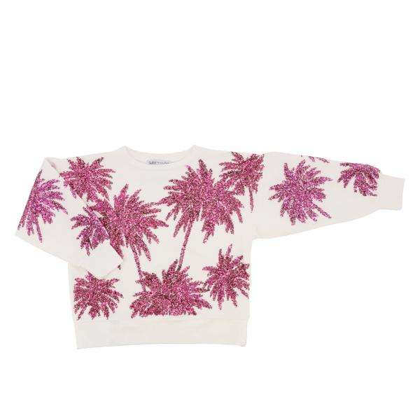 Patrizia Pepe sweater with sequin palms