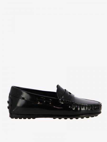 Tod's City Gommini moccasin in brushed leather