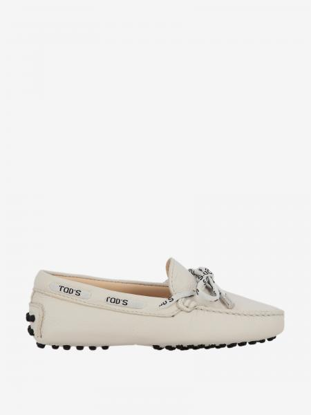 Tod's Gommini Drive moccasin in leather with logoed laces