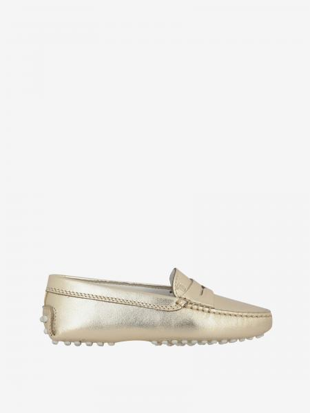 Tod's Gommini Drive moccasin in laminated leather