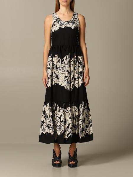 Платье с принтом Женское Twin Set