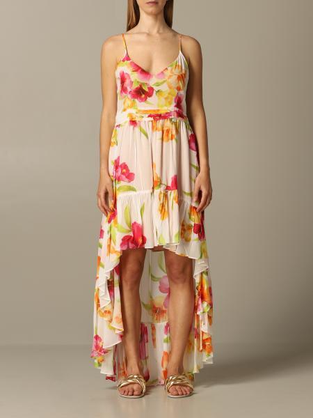 Платье длинное с принтом Женское Twin Set
