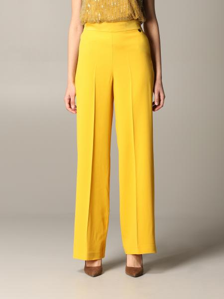 Twin-set cady trousers with america pockets