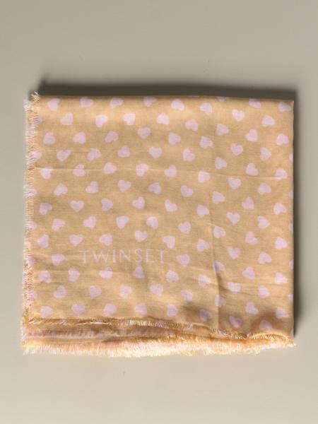 Écharpe Twin-set avec imprimé patchwork