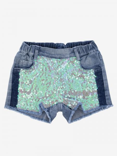 Pantaloncino di jeans Twin-set con paillettes