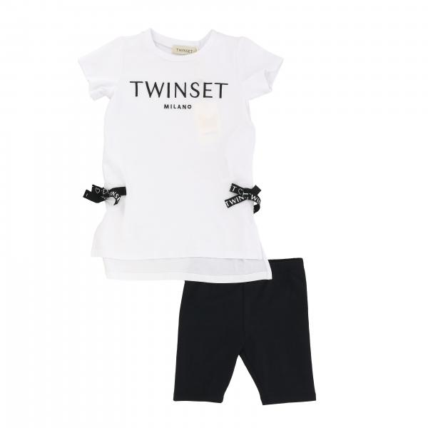 Top + Twin-set leggings with bows outfit