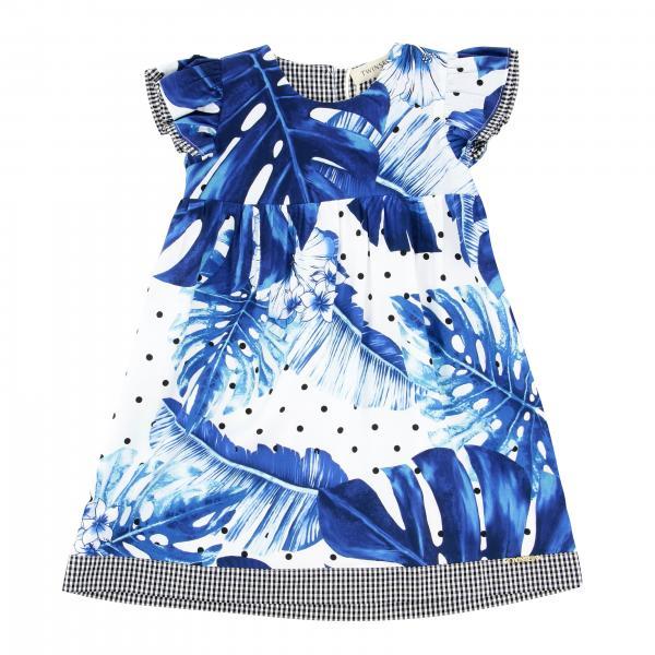 Платье с принтом Детское Twin Set