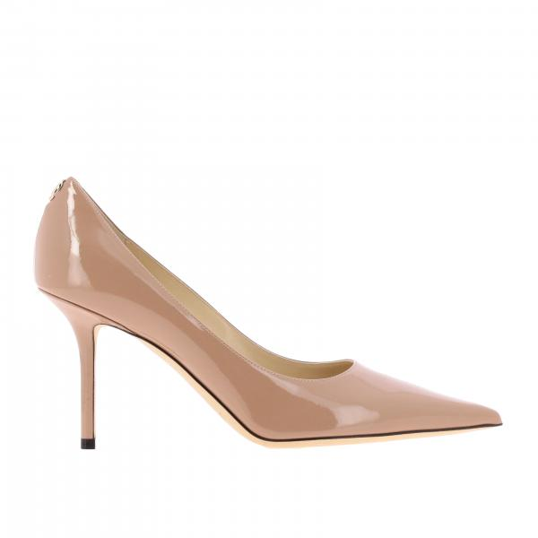 Love Jimmy Choo Pumps aus Lackleder