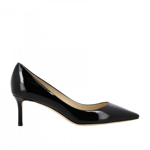 Romy Jimmy Choo Pumps aus Lackleder