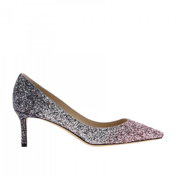 Romy Jimmy Choo Glitzer Pumps