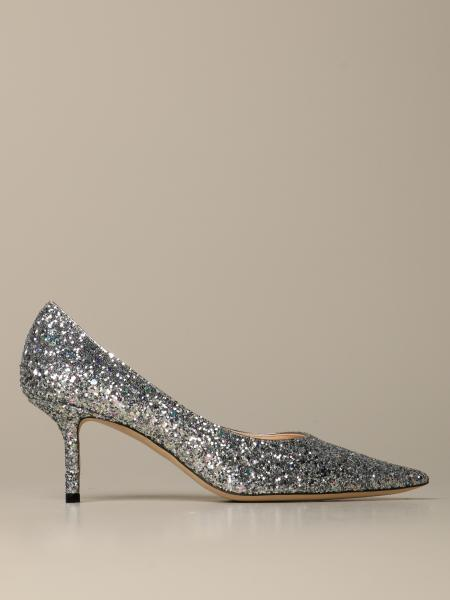 Love Jimmy Choo glitter pumps