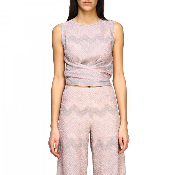 Top M Missoni in jacquard lurex