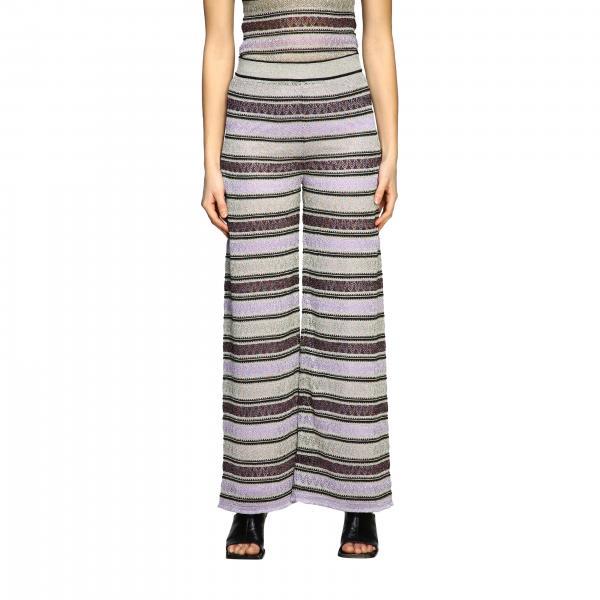 Pantalone M Missoni in jacquard lurex
