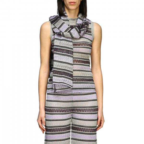 Stola M Missoni in jacquard lurex
