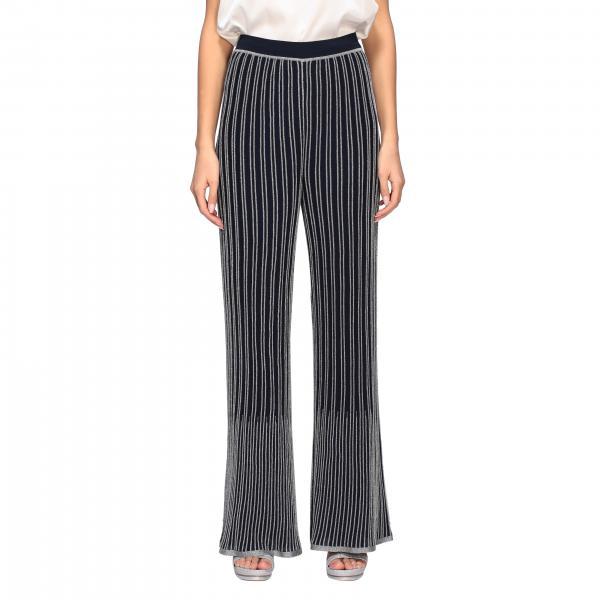 Pantalone M Missoni a coste lurex