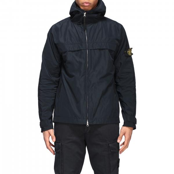 Stone Island micro reps motor jacket with hood